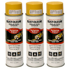 3x Rust-Oleum Survey Grade Inverted Marking Paint 17oz YELLOW
