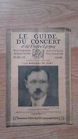 El Guía de La Concierto Y Las Teatro Letra - Georges de Lausnay - N º 30-1928