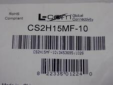 L-COM  CABLE ASSEMBLY CS2H15MF-10 NIB