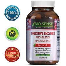 Digestive Enzymes Supplement for Digestion - Probiotics L. Acidophilus Bromelain