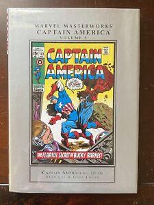 Marvel Masterworks CAPTAIN AMERICA Vol 5 - Nos. 125 - 136 - HC - 1st Printing
