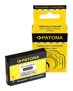 PATONA Akku für Actionpro X7 ISAW A1 A2 A3 ISAW Advance Extreme 083443A