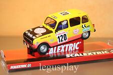 Slot SCX Scalextric A10160S300 Renault 4L 1979 Dakar - Claude & Bernard Marreau