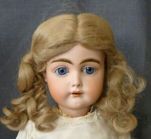 """13""""  Styled  DOLL WIG FOR VINTAGE DOLL,  WIG for Antique Doll, large doll wig"""