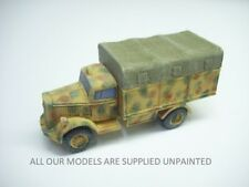 wargames vehicles.   Opel Blitz truck with canvas tilt.1/56 28mm QUICKIT (847)