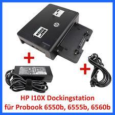 HP Dockingstation HSTNN-I10X + HP Netzteil 120W für Probook 6550b 6555b 6560b