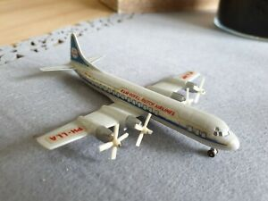 "Siku V Plastik F18a ? Flugzeug Lockheed L-188 ""Electra""  KLM Royal  Flughafen"