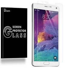 Samsung Galaxy Note 4 [2-PACK BISEN] Tempered Glass Screen Protector Guard Saver