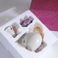 Cartoon Beauty And The Beast Mrs Potts Teapot Cup Sugar Bowl