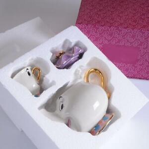 Cartoon Beauty And The Beast Mrs Potts Teapot Cup Sugar Bowl