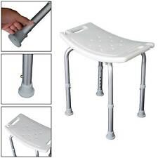 Easy Travel Portable Shower Aluminium Stool Bathroom Seat Bath Disability Aid