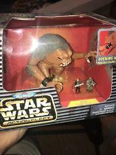 1996 Galoob Micro Machines Star Wars Action Fleet rancor Brand New Luke Guard