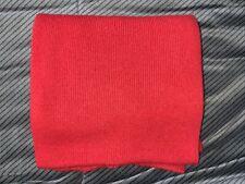 Weicher Schal rot hochrot Br.20/L.135cm warm leichte Spuren (auch Herren/Kinder)