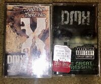 LOT OF 2 DMX CASSETTE TAPES THE GREAT RECESSION AND THEN THERE WAS X MUST SEE!!