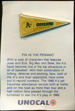 1988 OAKLAND A'S ATHLETICS BASEBALL LAPEL/HAT PIN THE PENNANT