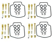 4 Pack of 2FastMoto Carburetor Carb Repair Kit for Honda CBX400F CBX550F 1982-86