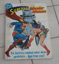 SAGEDITION  Superman contre Wonder Woman   format géant ! sep9
