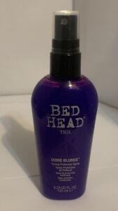 Tigi Bed Head Dumb Blonde Toning Protection Spray - 4.23 Oz