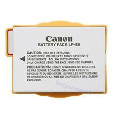 Origina Canon LP-E8 Battery For EOS Rebel 700D 650D X5 T2i T3i T4i T5i X5 X6 X7i