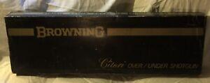 Vintage Browning Citori Over And Under Shotgun Box
