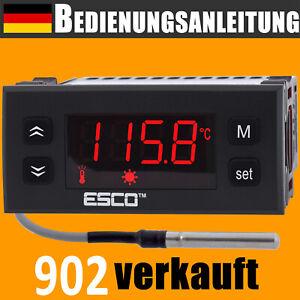 TEMPERATURREGLER mit fühler NTC Thermostat 230V Digital Temperaturschalter 20A