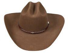 Resistol GEORGE STRAIT Western Cowboy Hat Beaver 4x Self Conforming 55 6 7/8
