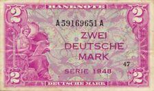 Germany FR / Deutschland P3a / Ro.234 2 mark 1948 VF