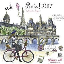 CALENDRIER 2017 - PARIS  - 17.5 x 17.5 cm