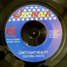 "NEW 7"" Cultural Roots - Can't Fight Reality  /  Version"
