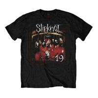 Mens Slipknot Debut Album 19 Years Black T-Shirt - Unisex Music Tee