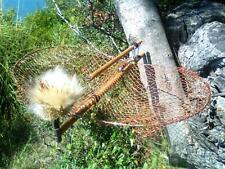 Gabbia Uccelli Bird Humane Live Net Trap Voliera Trappola Rete Legno Volatili