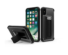 Scooch Wingman 5-in-1 Series Case for Apple iPhone XS/X (Black) WMC-I58-BK -SH22