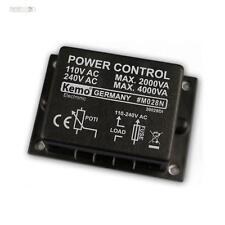 Leistungsregler Dimmer Lastregler 110V~ - 240V~ max 4000W Kemo M028N