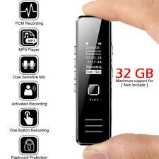 Mini Digital Voice Recorder Smart Audio Recording Voice Activated  Dictaphone