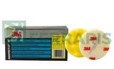 3M 50536 KIT Tamponi gialli per lucidatura carrozzeria auto polish 75 mm 4 PEZZI