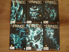 FRINGE TALES FROM THE FRINGE 1 - 6; first print DC comics FOX wildstorm ABRAMS