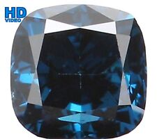 Natural Loose Diamond Cushion VS1 Clarity Blue Color 2.80MM 0.15 Ct KR51