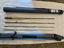 """Tfo Finesse Trout 8'-9"""", Graphite, 4 piece, 4wt Fly Rod new with case"""