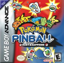 Pokémon Pinball Ruby And Sapphire GBA Great Condition Fast Shipping