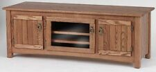 #976 Solid Wood Oak Mission TV Stand