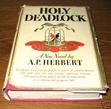 HOLY DEADLOCK A.P. Herbert First 1st Edition Ed 1934