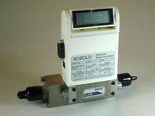 Kobold / Sierra 500PSIG Mass Flow Meter Model MAS-3015HPS1, 0-100 SLM Ar, 316 SS