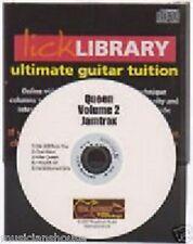 LICK LIBRARY REGINA 2 chitarra jamtrax Play Jam TRAX CD 2 imparare KILLER una visione