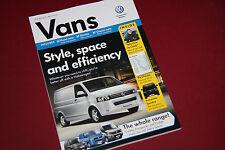 Volkswagen Vans Brochure 2012, VW Transporter T5 Caddy Crafter - MINT,130 pages