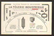 """PARIS (XI°) USINE de RECUPERATEUR de CHALEUR """"LA TOLERIE INDUSTRIELLE"""""""
