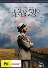 The Man Who Never Was (DVD, 2011) Region 4 Like New Qld