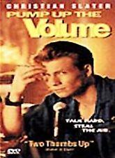 PUMP UP THE VOLUME 1989 dvd HIGH SCHOOL DJ Christian Slater Mint Ln