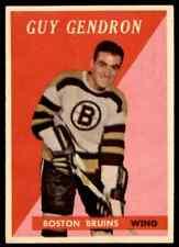 1958-59 TOPPS GUY GENDRON CS BOSTON BRUINS #51 JM