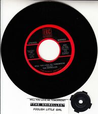 """THE SHIRELLES  Will You Love Me Tomorrow & Foolish Little Girl 7"""" 45 record NEW"""