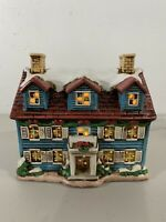 Vintage Geo Lefton Colonial House Christmas Village Byron Wood Collection RARE